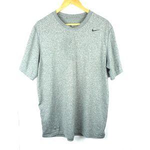 Nike Dri-fit Shirt Top sz L